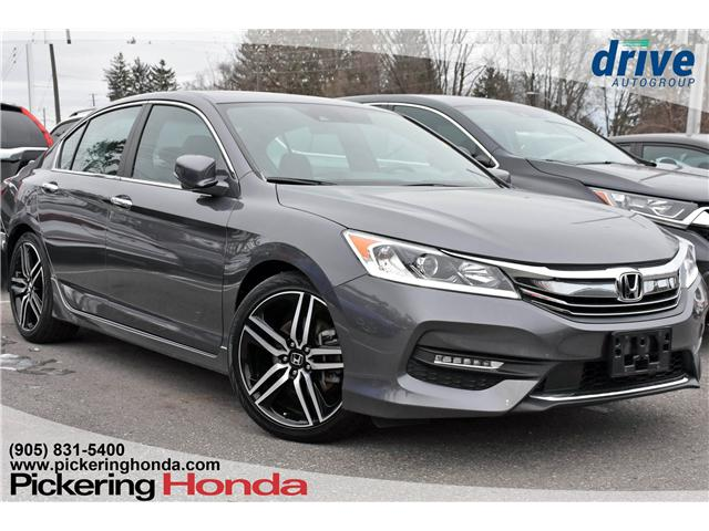 2017 Honda Accord Sport (Stk: U381A) in Pickering - Image 1 of 30