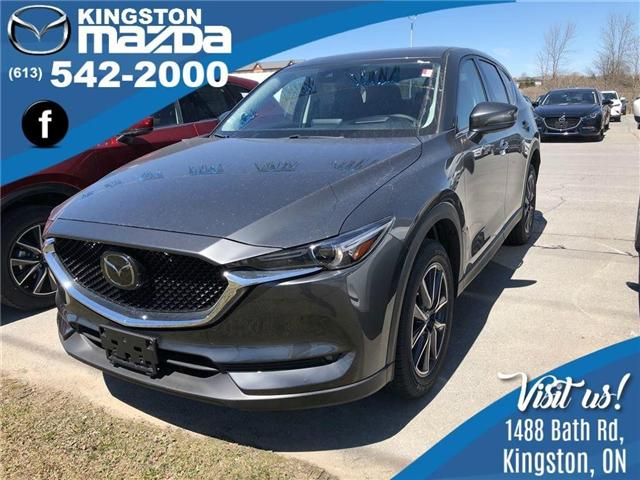 2018 Mazda CX-5 GT (Stk: 18T058) in Kingston - Image 1 of 6