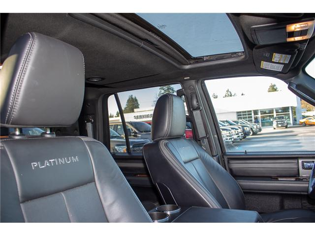 2017 Ford Expedition Max Platinum (Stk: P1465) in Surrey - Image 20 of 29