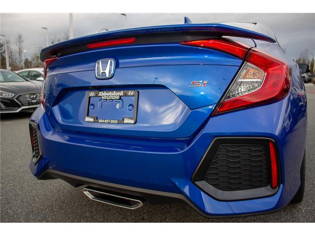 2017 Honda Civic Si (Stk: JT770280A) in Abbotsford - Image 6 of 27
