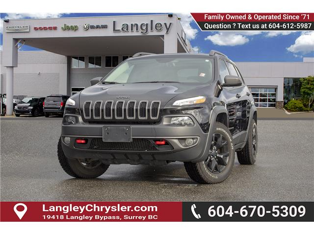 2017 Jeep Cherokee Trailhawk (Stk: EE900350) in Surrey - Image 3 of 28