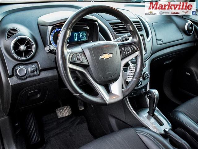 2014 Chevrolet Trax 2LT-FWD-ROOF- GM CERTIFIED- 1 OWNER TRADE (Stk: 581365A) in Markham - Image 11 of 25