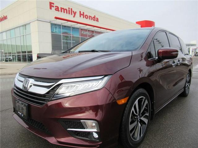 2018 Honda Odyssey Touring, FULLY LOADED!!!! (Stk: 9505124A) in Brampton - Image 1 of 30