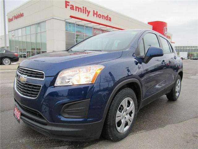 2015 Chevrolet Trax LS, WOW, BEST VALUE! (Stk: 8142857A) in Brampton - Image 1 of 23