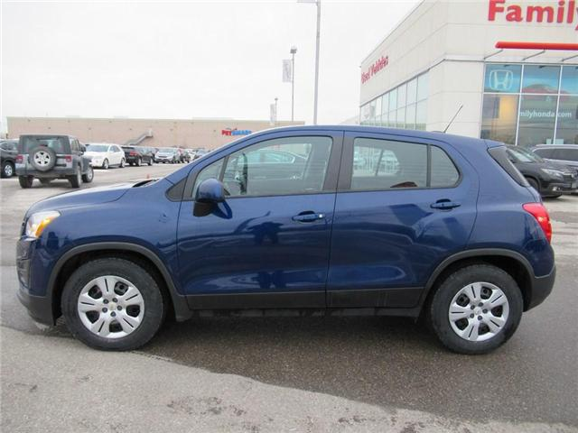 2015 Chevrolet Trax LS, WOW, BEST VALUE! (Stk: 8142857A) in Brampton - Image 2 of 23