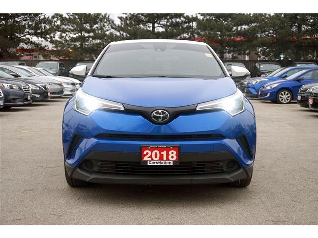 2018 Toyota C-HR XLE PREMIUM PKG| LANE CHANGE ASSIST| HEATED SEATS (Stk: K081A) in Burlington - Image 2 of 30