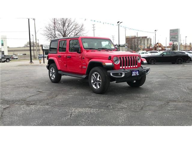 2018 Jeep Wrangler Unlimited Sahara (Stk: 18730) in Windsor - Image 2 of 11
