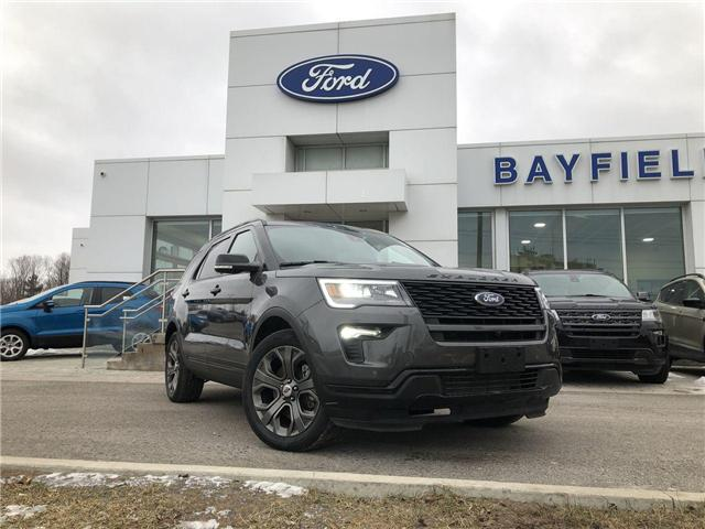 2018 Ford Explorer Sport (Stk: EX181659) in Barrie - Image 1 of 28