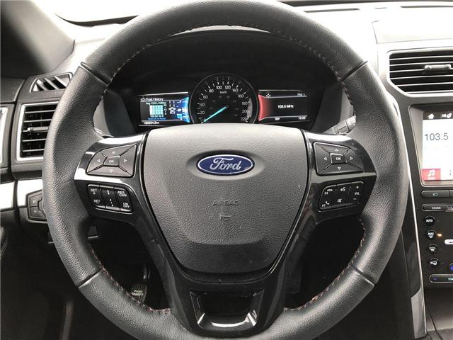 2018 Ford Explorer Sport (Stk: EX181659) in Barrie - Image 10 of 28