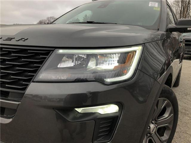 2018 Ford Explorer Sport (Stk: EX181659) in Barrie - Image 20 of 28