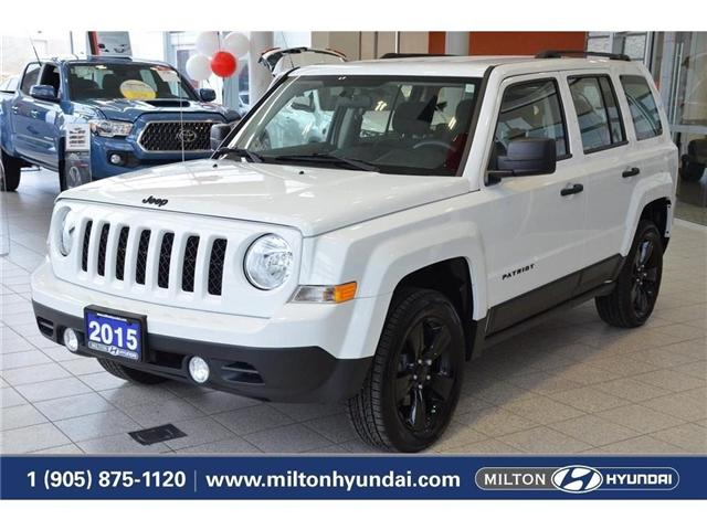 2015 Jeep Patriot Sport/North (Stk: 282407) in Milton - Image 1 of 35