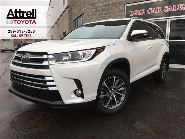 2019 Toyota Highlander AWD XLE (Stk: 43190) in Brampton - Image 1 of 28