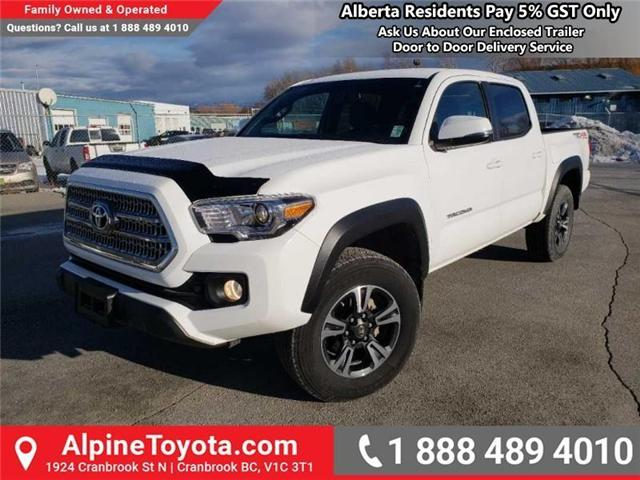 2017 Toyota Tacoma TRD Off Road (Stk: X078385M) in Cranbrook - Image 1 of 16