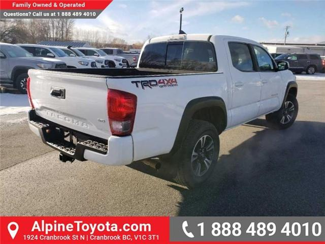 2017 Toyota Tacoma TRD Off Road (Stk: X078385M) in Cranbrook - Image 5 of 16