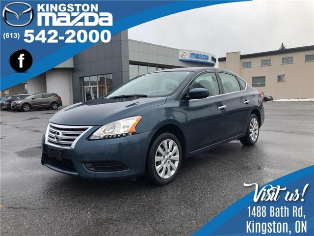 2014 Nissan Sentra 1.8 S (Stk: 18T147A) in Kingston - Image 1 of 9