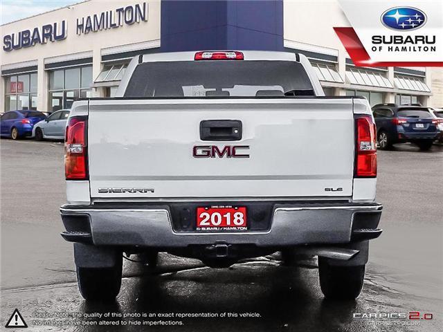 2018 GMC Sierra 1500 SLE (Stk: U1383A) in Hamilton - Image 6 of 27