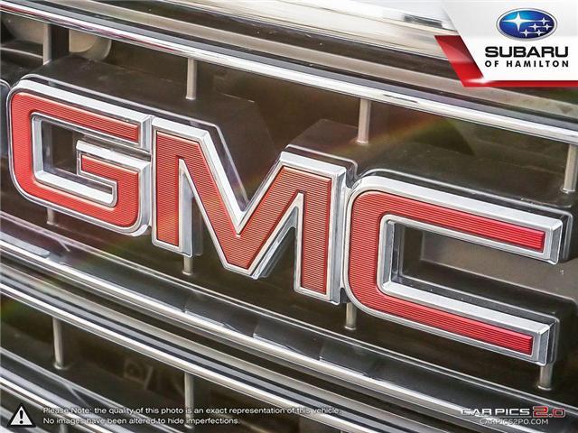2018 GMC Sierra 1500 SLE (Stk: U1383A) in Hamilton - Image 24 of 27
