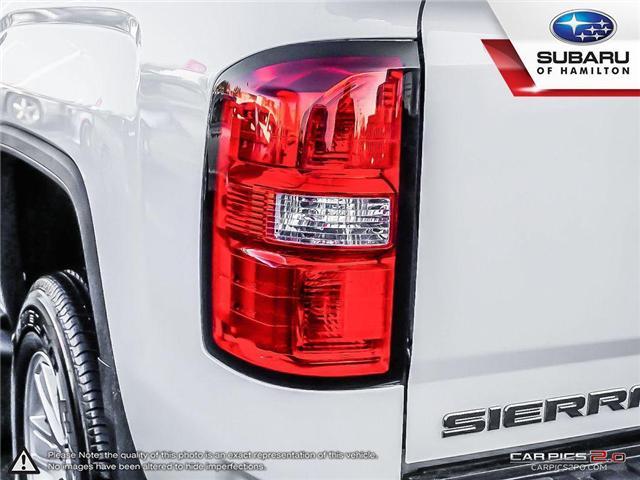 2018 GMC Sierra 1500 SLE (Stk: U1383A) in Hamilton - Image 27 of 27
