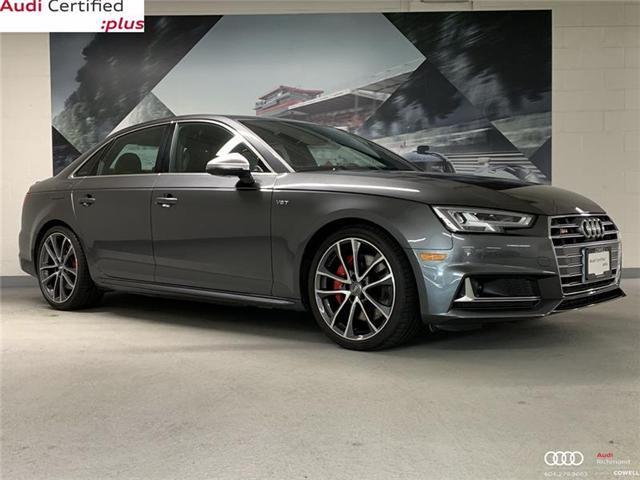 2018 Audi S4 3.0T Technik (Stk: A2517A) in Richmond - Image 1 of 22