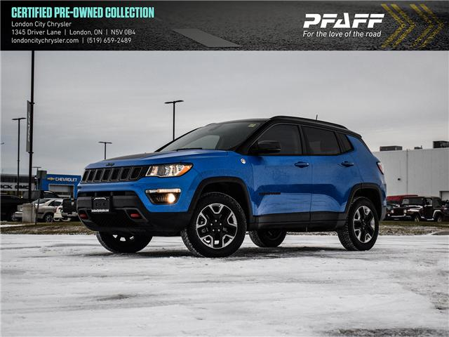 2018 Jeep Compass Trailhawk (Stk: 61631A) in London - Image 1 of 25