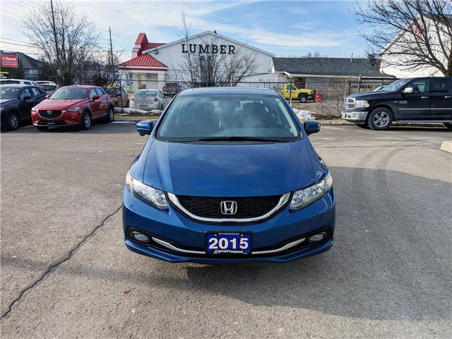 2015 Honda Civic Touring (Stk: 1536) in Peterborough - Image 2 of 5