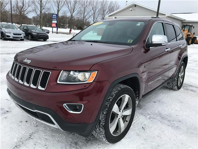 2016 Jeep Grand Cherokee Limited (Stk: U3191) in Charlottetown - Image 1 of 16