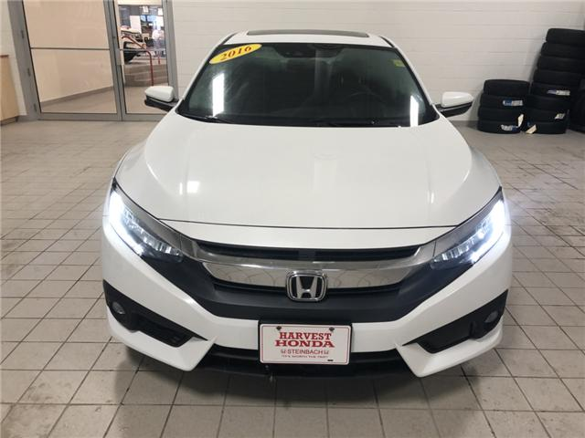 2016 Honda Civic Touring (Stk: 19075A) in Steinbach - Image 2 of 12