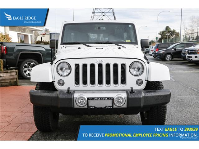 2018 Jeep Wrangler JK Unlimited Sahara (Stk: 189290) in Coquitlam - Image 2 of 15
