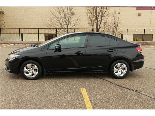 2014 Honda Civic LX (Stk: 1810484) in Waterloo - Image 2 of 24