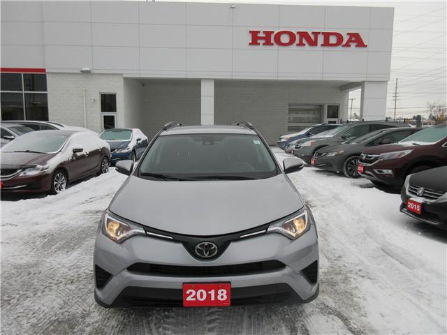 2018 Toyota RAV4 LE (Stk: 26391A) in Ottawa - Image 1 of 8