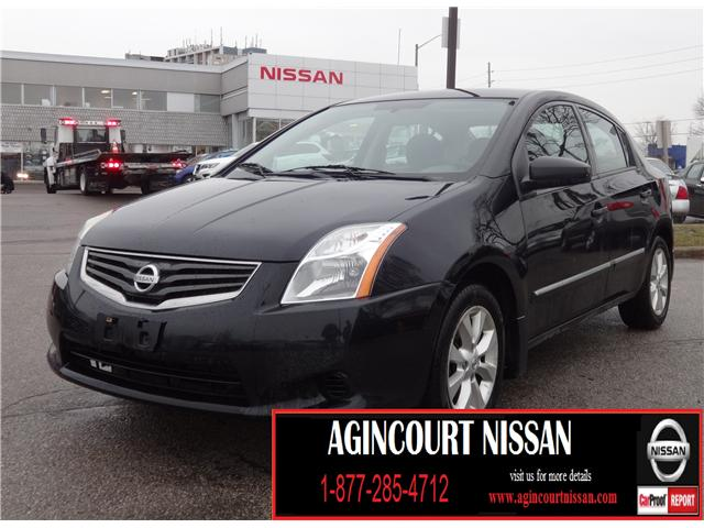 2011 Nissan Sentra 2.0 S (Stk: JC259508A) in Scarborough - Image 1 of 13