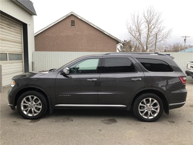 2017 Dodge Durango Citadel (Stk: 14158) in Fort Macleod - Image 2 of 25