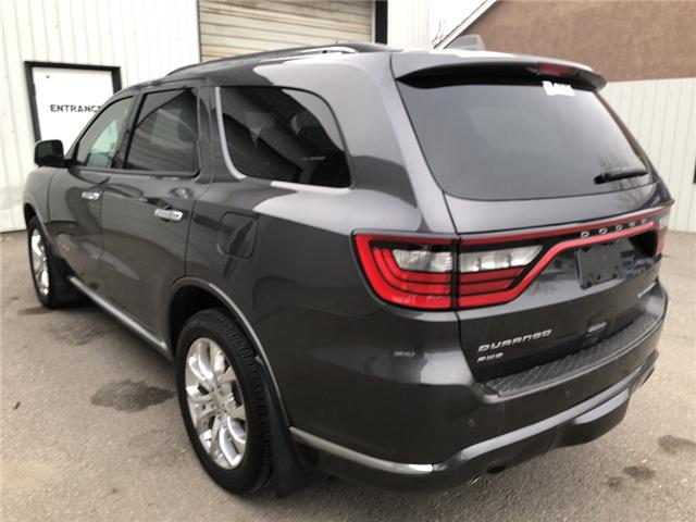 2017 Dodge Durango Citadel (Stk: 14158) in Fort Macleod - Image 3 of 25