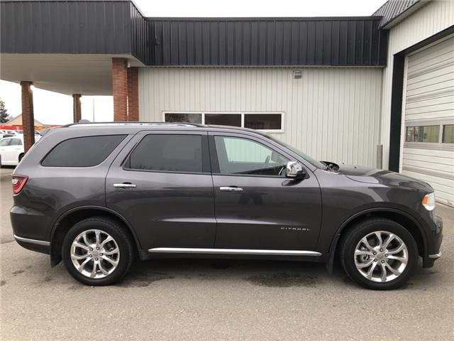 2017 Dodge Durango Citadel (Stk: 14158) in Fort Macleod - Image 7 of 25