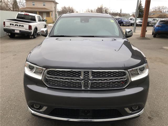 2017 Dodge Durango Citadel (Stk: 14158) in Fort Macleod - Image 9 of 25