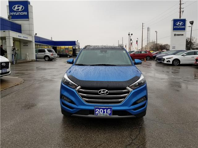 2016 Hyundai Tucson Ultimate (Stk: 11548P) in Scarborough - Image 2 of 12