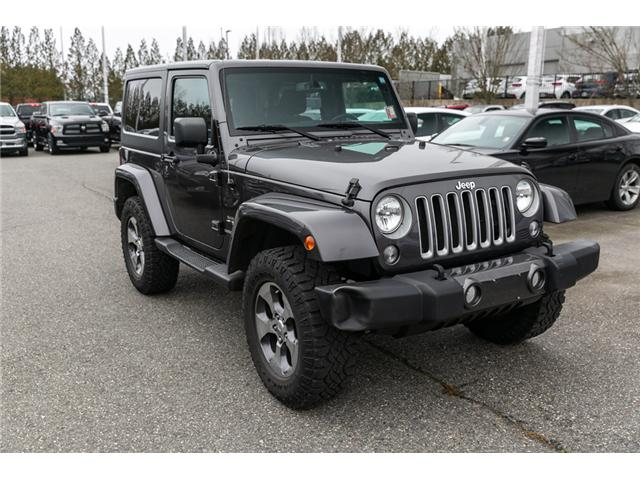 2016 Jeep Wrangler Sahara (Stk: AG0904A) in Abbotsford - Image 9 of 19