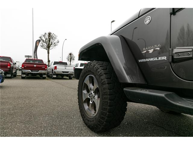 2016 Jeep Wrangler Sahara (Stk: AG0904A) in Abbotsford - Image 11 of 19