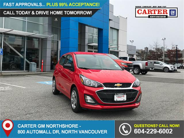 2019 Chevrolet Spark LS Manual (Stk: 9P00270) in North Vancouver - Image 1 of 13