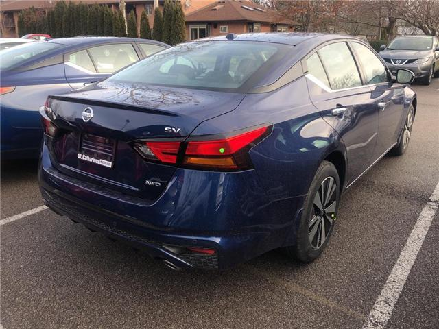 2019 Nissan Altima 2.5 SV (Stk: AL19013) in St. Catharines - Image 4 of 5