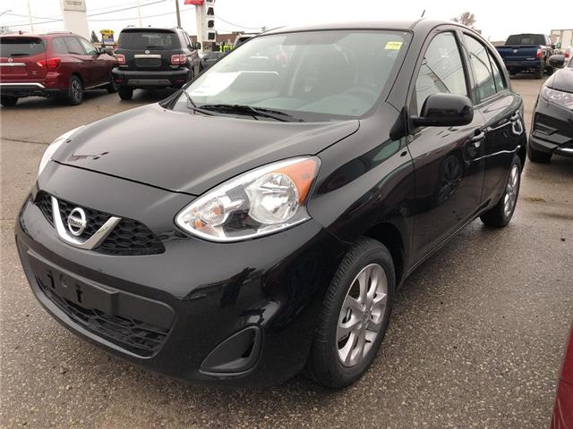 2018 Nissan Micra SV (Stk: U0597) in Cambridge - Image 1 of 5
