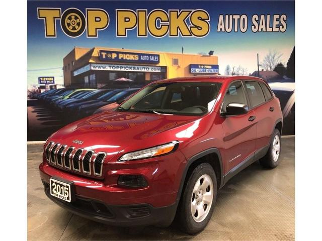 2015 Jeep Cherokee Sport (Stk: 523552) in NORTH BAY - Image 1 of 26
