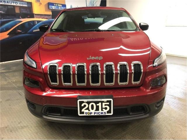 2015 Jeep Cherokee Sport (Stk: 523552) in NORTH BAY - Image 2 of 26