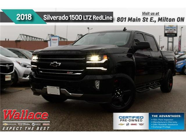 2018 Chevrolet Silverado 1500 LTZ/DEMO/REDLINE EDTN/Z71 PKG/LTZ+ PKG/SUNRF/STPS (Stk: 515447D) in Milton - Image 1 of 3