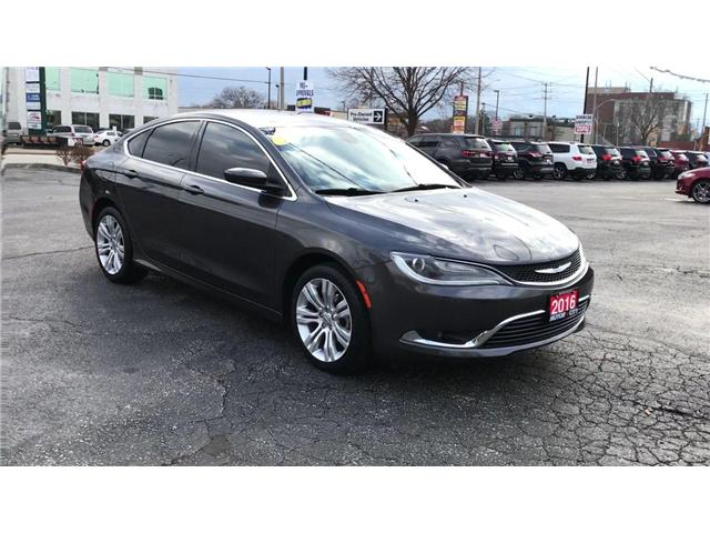 2016 Chrysler 200 Limited (Stk: 19564A) in Windsor - Image 2 of 11