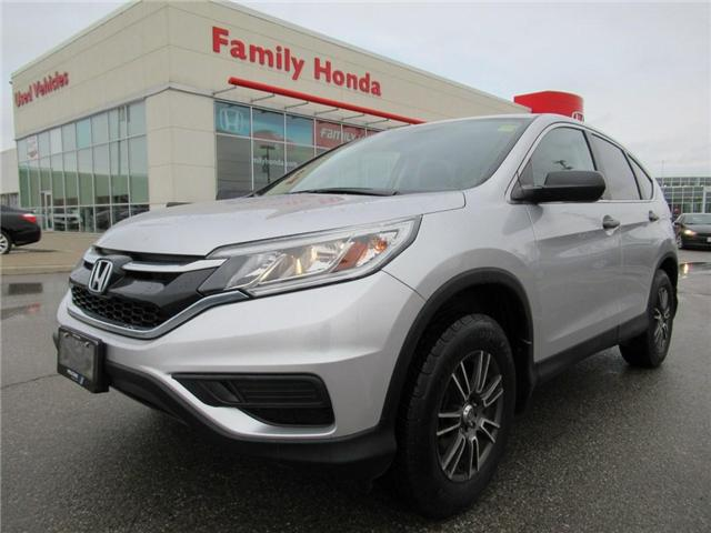 2015 Honda CR-V LX, with upgraded ALLOY Rims!!! (Stk: 8146314A) in Brampton - Image 1 of 26