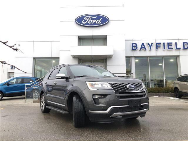 2018 Ford Explorer Platinum (Stk: EX181635) in Barrie - Image 1 of 26