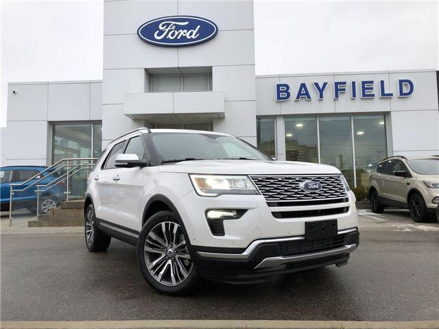 2018 Ford Explorer Platinum (Stk: EX181306) in Barrie - Image 1 of 30
