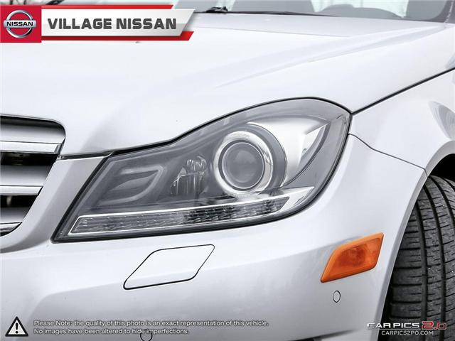 2012 Mercedes-Benz C-Class Base (Stk: 80925A) in Unionville - Image 10 of 27