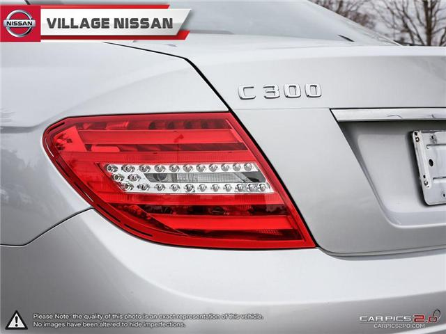 2012 Mercedes-Benz C-Class Base (Stk: 80925A) in Unionville - Image 12 of 27
